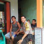 Patroli di Desa Binaan Bripka Sakijan Himbau Jangan Percaya Berita Hoax