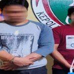 Jajaran Polres Sanggau Amankan Dua Tersangka Pelaku Tindak Pidana Narkotika