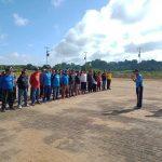 Dinas Perhubungan Kabupaten Sanggau Lakukan Gerakan Biru Bermartabat di Dermaga Kecamatan Meliau