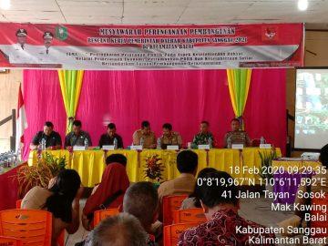 Dinas Perkebunan dan Peternakan Mengikuti Musrenbang Tingkat Kecamatan di Kecamatan Balai