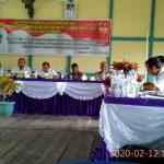 Disbunnak Menyampaikan Program Kegiatan Pada Musrenbang di Kecamatan Mukok