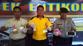 Polsek Entikong Gagalkan Peredaran Narkoba Di Perbatasan Indonesia Malaysia