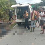 Lakalantas Motor vs Motor di Sanggau, 1 Korban Meninggal Dunia