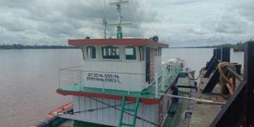 BREAKING NEWS : Seorang ABK Kapal Hilang Tercebur di Sungai Kapuas Tayan
