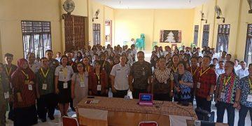 Kegiatan Tes SKD CPNS di Lingkungan Pemerintah Kabupaten Sanggau Tahun Anggaran 2019