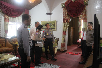 Persiapkan kedatangan Kapolda, Kapolres Sanggau Cek Mess Pemda Sanggau