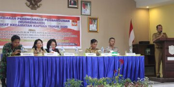 Musrenbang RKPD Kabupaten Sanggau Tahun 2021 di KecamatanKapuas