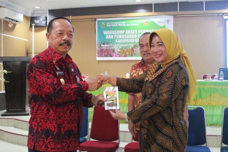 Wabup Sanggau Membuka Secara Resmi Kegiatan Workshop Akses Permodalan dan Pemasaran Pariwisata Kabupaten Sanggau