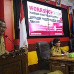 Sekda Sanggau Membuka Secara Resmi Kegiatan Workshop Pengukuran Kinerja PNS di Lingkungan Pemkab Sanggau