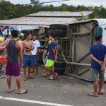 KRONOLOGI Kecelakaan Maut Bus Sekolah Vs Truk di Jalan Raya Tayan-Batang Tarang, Satu Pelajar Tewas