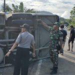 Laka Maut Truk dan Bus di Tayan Hilir, Anak Sekolah Jadi Korban Satu Tewas