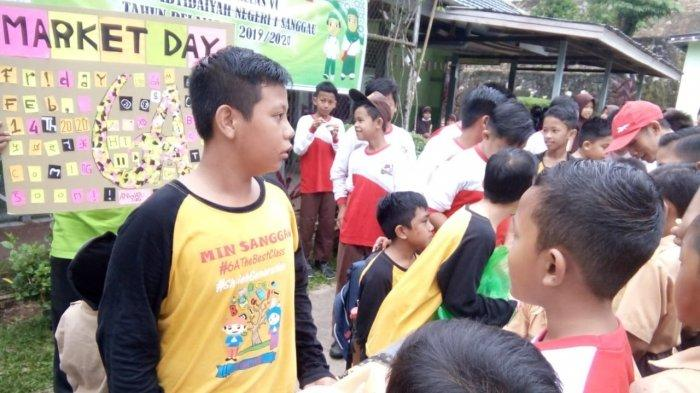 Tanamkan Jiwa Wirausaha Sejak Dini, MIN Sanggau Adakan Even Market Day