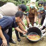 Musnahkan 1,48 Kilogram Sabu, Polres Sanggau Amankan Tiga Tersangka
