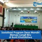 VIDEO: Suasana Sosialisasi Program Desa Mandiri Menuju Langit Biru di Sanggau