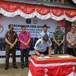 Rutan Sanggau Gelar Upacara Pencanangan Zona Integritas