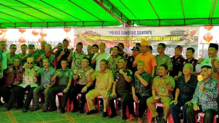 Gelar Kegiatan Polres Sanggau Menyapa, Ini Yang Disampaikan Raymond Marcelino Masengi