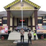 Kapolres Sanggau Himbau Anggota Jaga Pola Hidup Sehat Menyikapi Covid-19