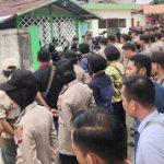Personil Polres Sanggau di terjunkan Dalam Pengamanan Sidang Tindak Pidana Karhutla di PN Sanggau