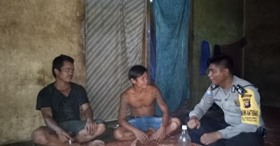Brigpol Lasro Simandalahi Sampaikan Himbauan Jangan Percaya Hoax Kepada Masyarakat