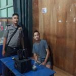 Disamping Patroli Brigpol Febri Tri Suhardi Sampaikan Kepada Warga Bijaklah Dalam Bermedsos