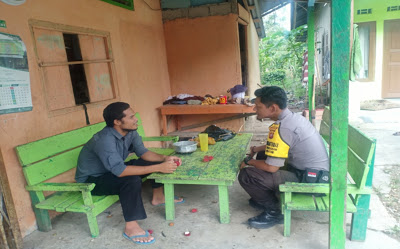 Brigpol Denis Ardiansyah Melaksanakan kegiatan DDS ke Rumah Warga Binaan