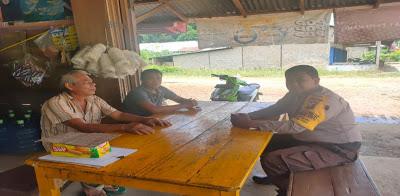 Sambil Bersantai Brigpol Novi Iswandi Himbau Bijak Menggunakan Medsos