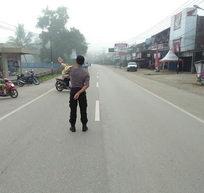 Strong Point Pagi Tutin Dilaksanakan Bripka Rudy