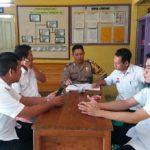 Bripka Sunu Joko Susanto Sambangi Kantor Desa serta Sampaikan Pesan Kamtibmas