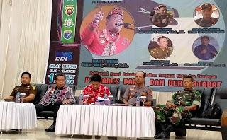 320 Cakades se-Kabupaten Sanggau Ikut Deklarasi Damai