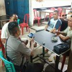 Sambil Ngopi Brigpol Febri Tri Suhardi Himbau Bijaklah Menggunakan Media Sosial