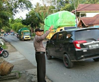 Strong Point Pagi Bripka Darmawan di Persimpangan Riam Kelurahan Bunut
