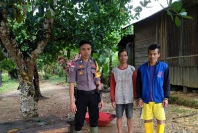 Brigpol Tatak Budi Cahyono Berikan Himbauan Kamtibmas Kepada Masyarakat