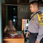 Patroli, Bhabinkamtibmas Berikan Pesan Kamtibmas Kepada Masyarakat