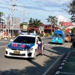 Cegah Covid-19, Tim Gabungan Patroli Sanggau Beri Imbauan