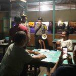 Pasang Maklumat Kapolri, Polres Sanggau Terus Imbau Jam Malam