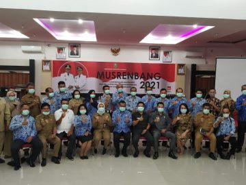 Dibayangi Isu Penyebaran Virus Covid-19, Pemkab Sanggau Melaksanakan Musrenbang RKPD 2021