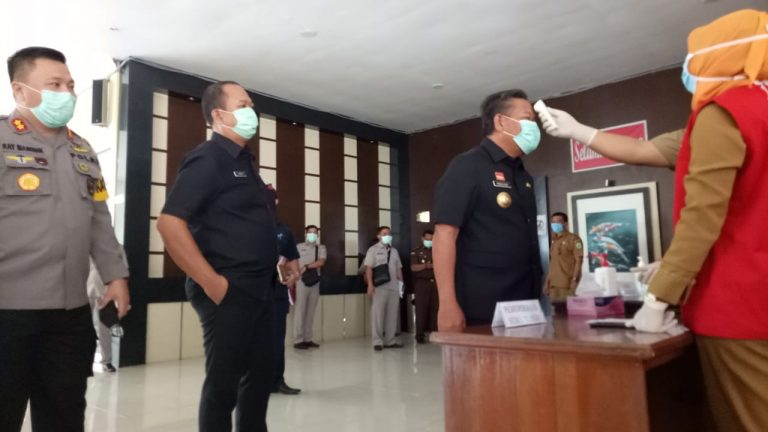 Cegah Korona, DPRD Sanggau Terapkan Standar Protokoler Kesehatan