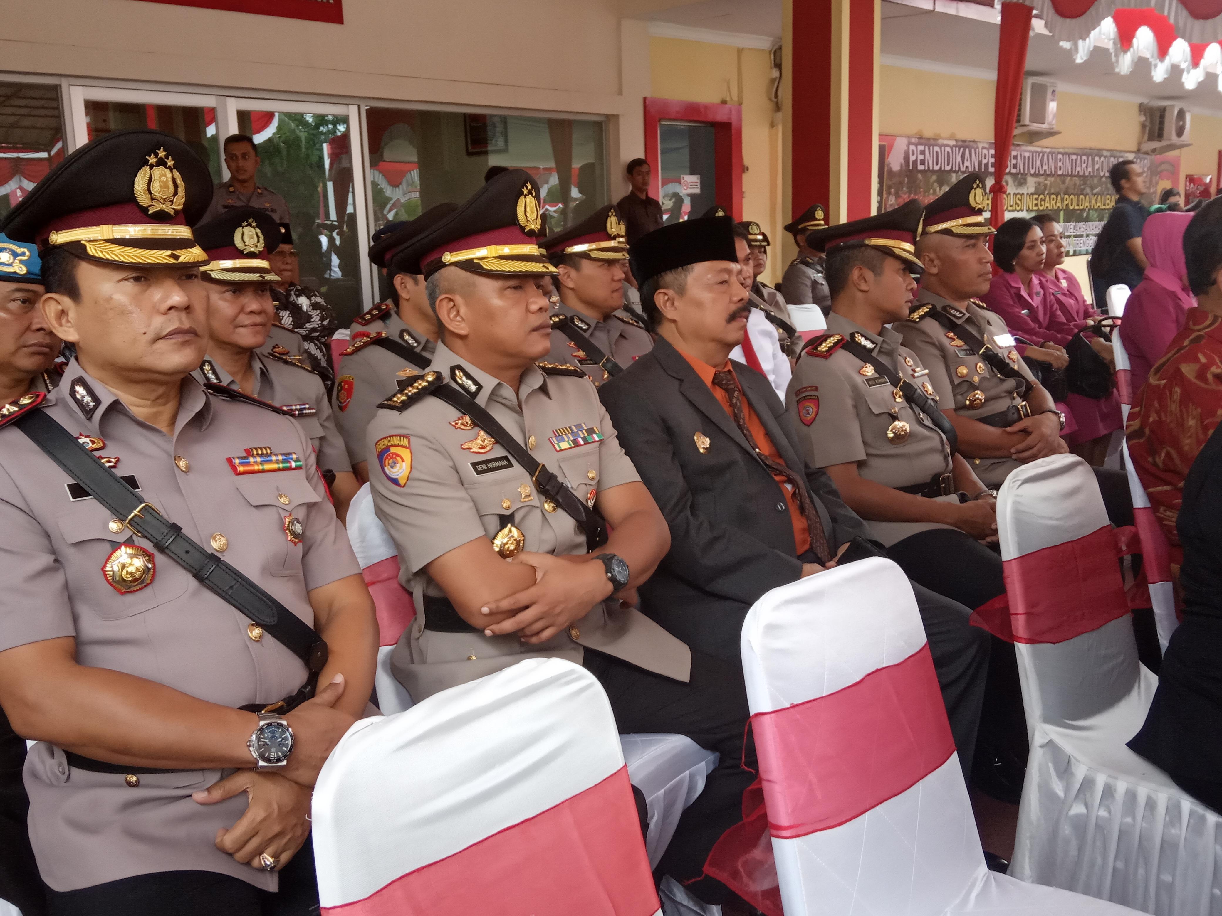 Wabup Sanggau Hadiri Penutupan Pendidikan Pembentukan Bintara Polri di SPN Polda Kalbar