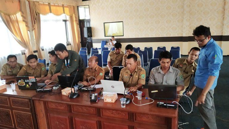 Diskominfo Kab. Sanggau Selenggarakan Workshop Bagi Admin Pengelolaan Jaringan Intranet dan Internet OPD
