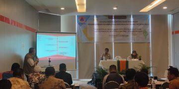 Kepala Pelaksana BPBD Kab. Sanggau mengikuti Sosialisasi Mapping Aset Fisik Dana Bantuan Rehabilitasi dan Rekonstruksi BNPB RI