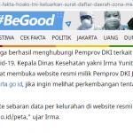 [SALAH] Daftar Zona Merah Daerah Terjangkit Virus Corona Oleh TNI – Covid19.go.id