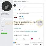 """Anggota dpr dites corona malah positif korupsi anjing"" – Covid19.go.id"