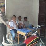 Brigpol Yanmaro Sebarkan Maklumat Kapolri di Desa Binaanya