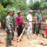 TMMD Regtas Kodim 1204 Sanggau peduli kearifan lokal