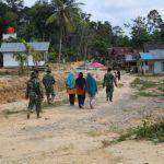 Dilatih bermain rabana, ibu-ibu Dusun Sekura ucapkan terima kasih