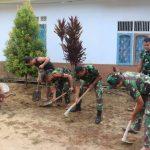 Agar lingkungan tetap bersih, ini dilaksanakan prajurit TMMD