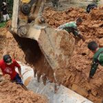 Satgas TMMD Regtas 107 Kodim 1204/Sanggau PasangGorong-gorong di Jalan Dusun Jonti, Ini Tujuannya