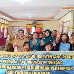 Emak-emak Antusias Ikuti Penyuluhan Kesetaraan Gender DinsosP3AKB Sanggau