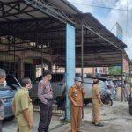 Satgas Gugus Tugas Covid - 19 Sterilisasi Kawasan Kecamatan Kapuas Sanggau