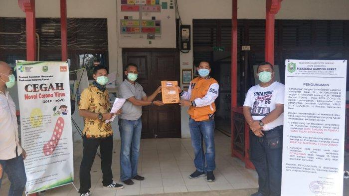 Ketua DPC Hanura Sanggau Serahkan Bantuan Kepada Gugus Tugas Percepatan Penanganan Covid-19